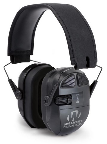 casques walker's ultimate power muff quads balck