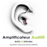 amplificateur auditif intra auriculaire